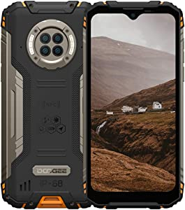 Rugged Phone Unlocked DOOGEE S96 Pro 8GB+128GB Infrared Night Vision Helio G90 Octa Core Waterproof Android Phone, 48MP+20MP, 6.22
