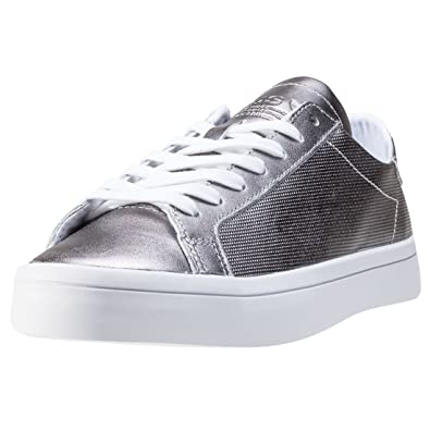 Sneaker Silber1236amazon Damen Adidas W Courtvantage Pn08wokx Originals jL35Ac4Rq