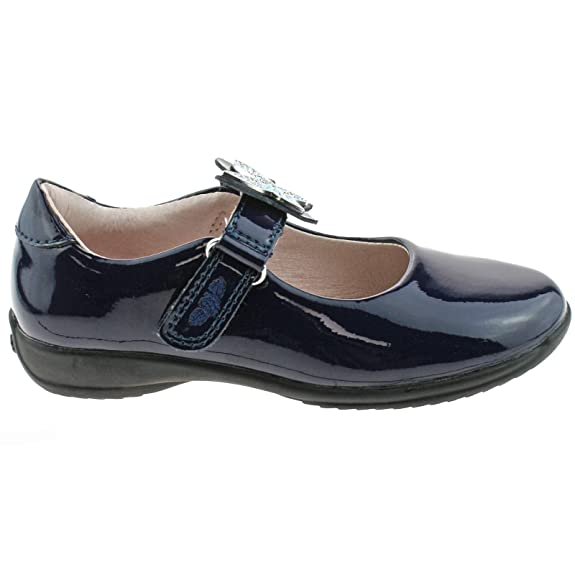 Lelli Kelly LK8309 (DB01) Love Black Patent School Shoes F Fitting-24 (UK 6.5) mQDPd