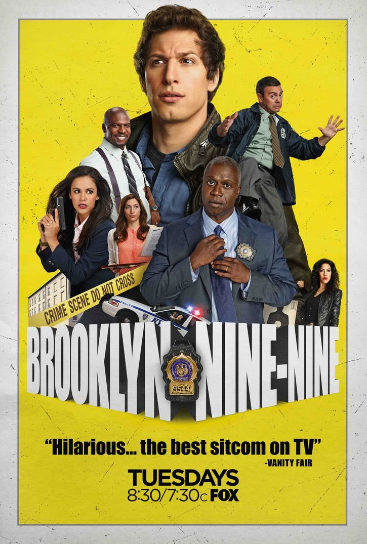 Silk Print Poster Infinite Arts Brooklyn Nine Nine Season 2 0DCBE8 Silk Printing 14inch x 21inch//35cm x 52cm