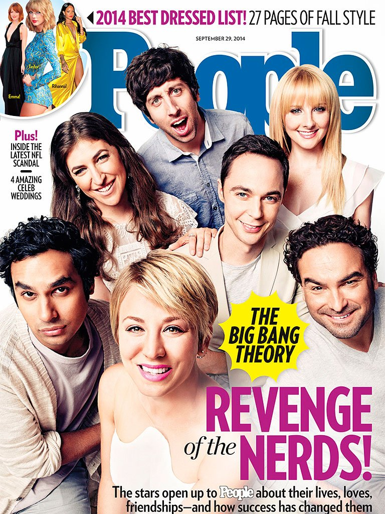 People Magazine September 29, 2014 Big Bang Theory Cover - Revenge of the Nerds! ebook