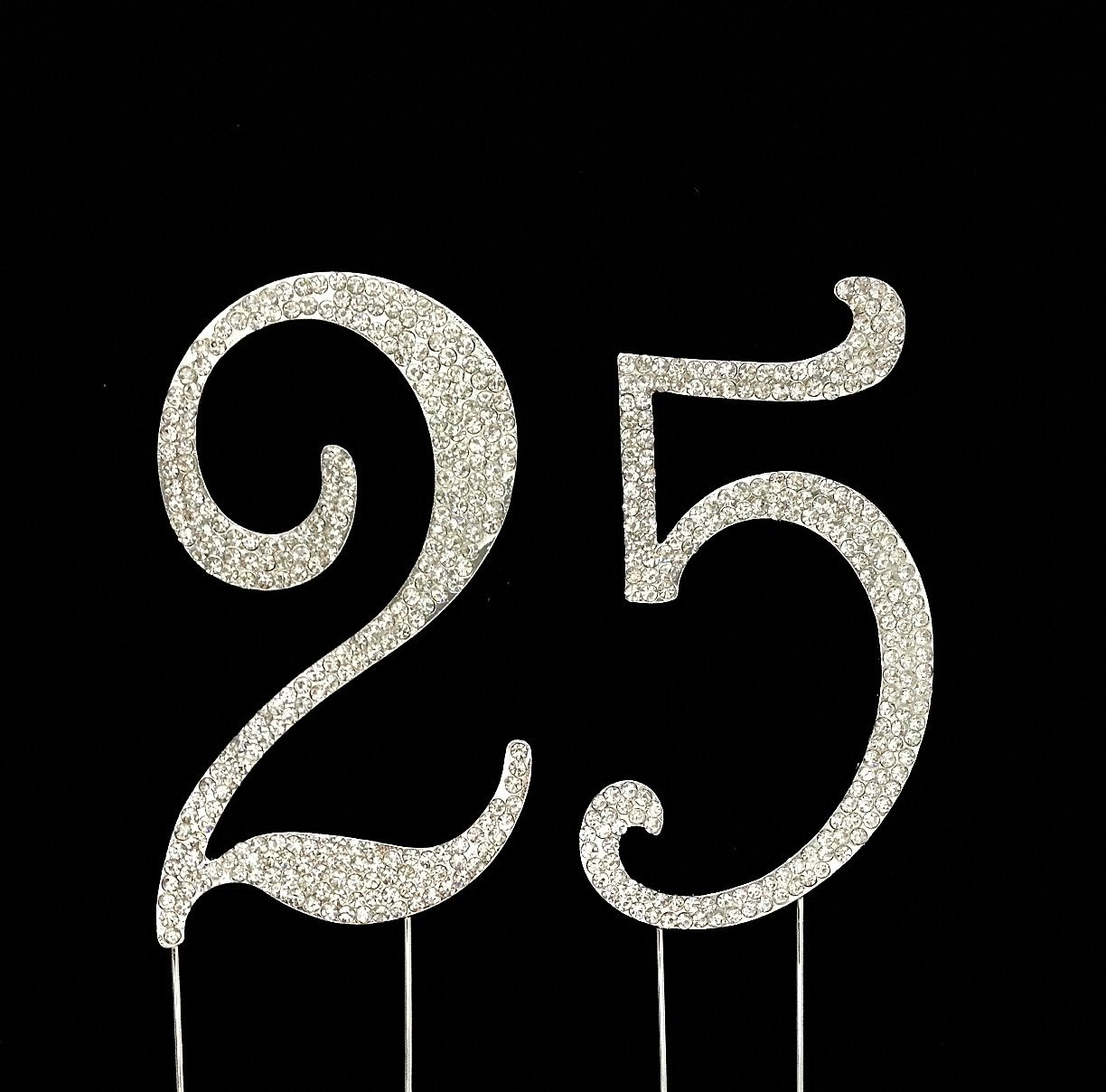 Amazon Number 25 For 25th Birthday Or Anniversary Cake Topper