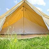 Boutique Camping 7 m Tienda Interior para una Tienda de Bell – Compartimento único