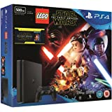 Sony PlayStation 4 500GB Console with LEGO Star Wars: The Force Awakens Game + Blu-Ray Movie
