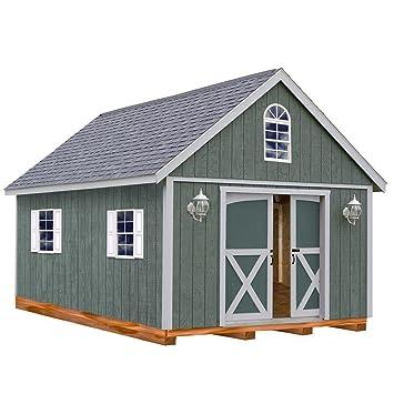 Kit cobertizo de madera con suelo incluido 4 x
