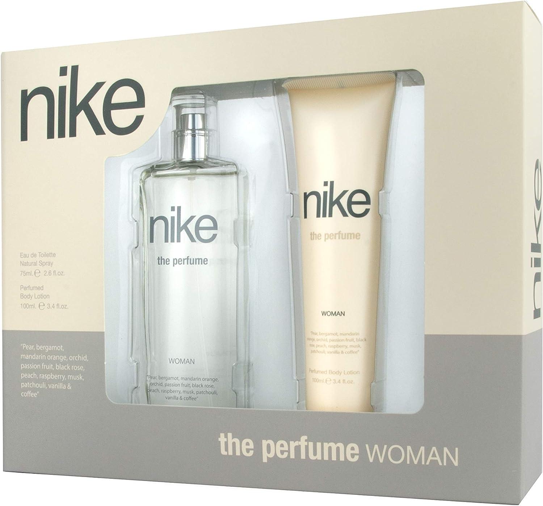 Nike - The Perfume Estuche de Regalo para Mujer, Eau de Toilette 75 ml y Body Lotion 100 ml