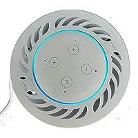 Suporte de Teto de embutir em forro de gesso ou pvc para Amazon Echo Dot 3 (BRANCO)