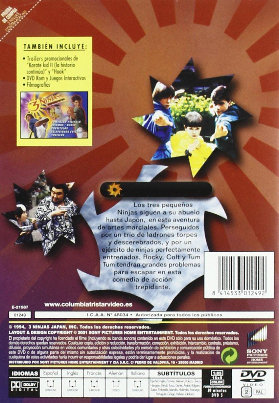 3 Ninjas Contraatacan [DVD]: Amazon.es: Varios, Charles C ...