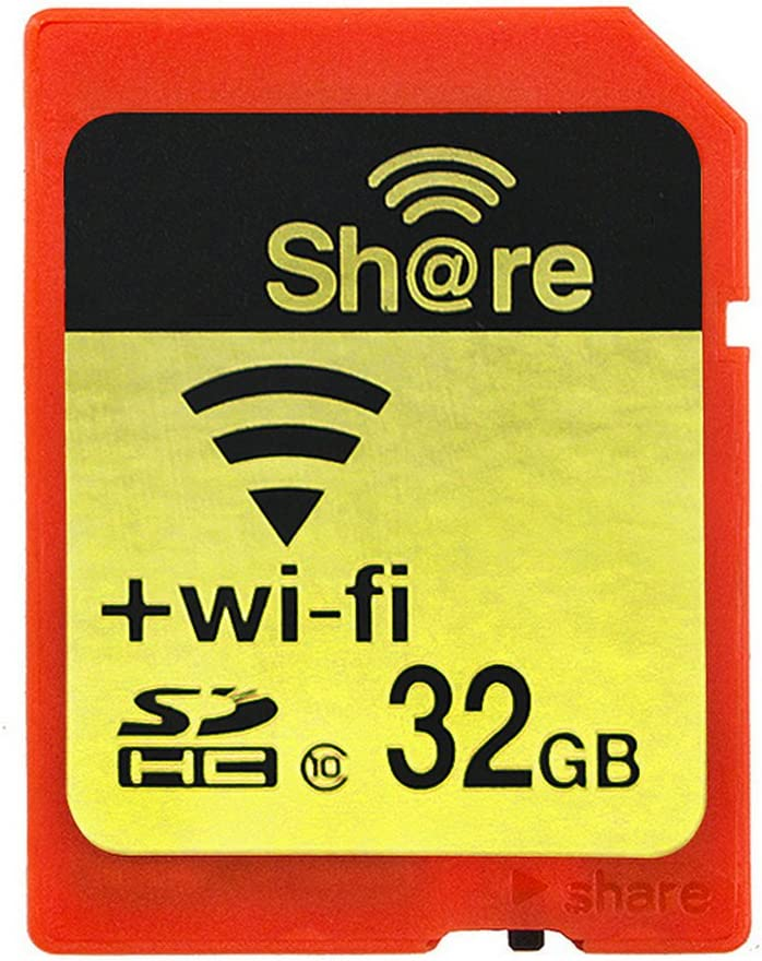GuDoQi Wireless WiFi Tarjeta SD 32Gb SHDC Clase 10 Tarjeta De Memoria Flash para Canon Nikon Casio Cámara Digital SLR