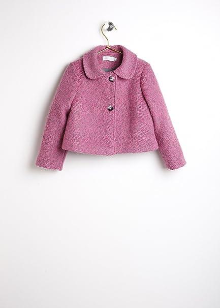 Chaqueta niña rosa de lana LINDA _ chaqueta chanel niña ...