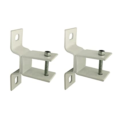 Delicieux ALEKO Wall Mounting Brackets For Retractable Awnings, Lot Of 2 White  Brackets