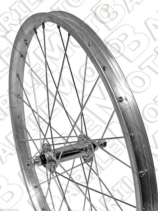 Ruota Cerchio Anteriore Bici Graziella Mtb 20 X 175 Alluminio Acciaio