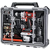 BLACK+DECKER Cordless Drill Combo Kit with Case 6-Tool