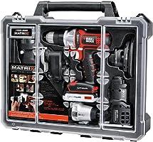Black & Decker BDCDMT1206KITC Matrix 6 Kit de Combo de herramientas con estuche