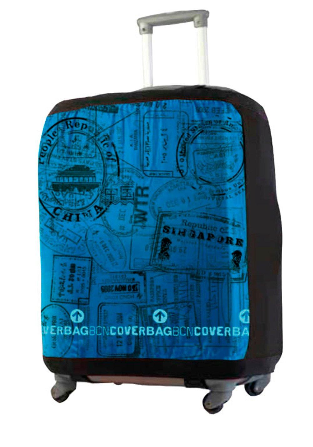 Housse de Valise Modèle Passeport Taille M pour Bagages Entre 50-60 cm 1000110202