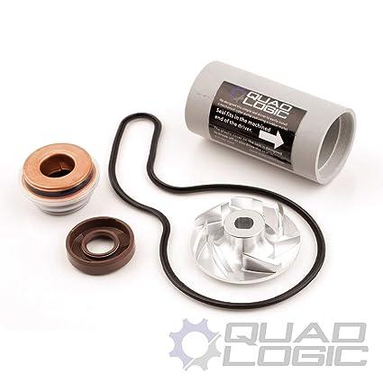 Polaris RZR 800 (2008-14) Water Pump Rebuild Kit - Seals, Driver, Impeller