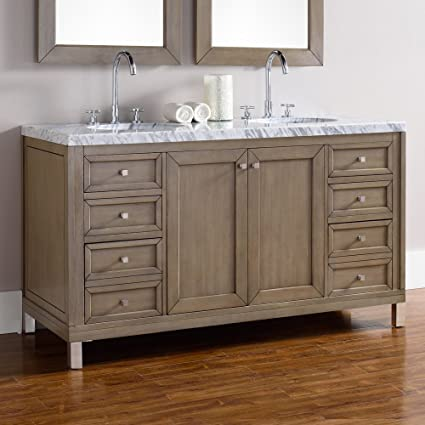 James Martin Chicago 60 In. Double Bathroom Vanity