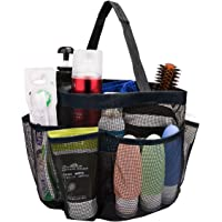 Mesh Shower Caddy 8 Pockets Mesh Portable Shower Tote Bag