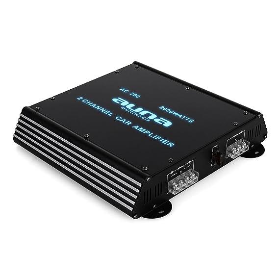 BeatPilot FX-202 Equipo HiFi coche altavoces amplificador: Amazon.es: Electrónica