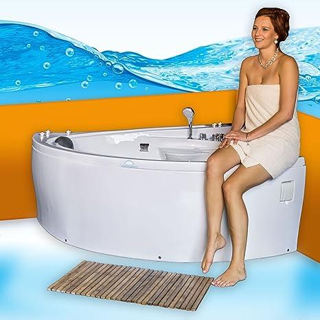 Sonderfunktion2:ohne 0.-EUR Selfclean:aktive Schlauch-Reinigung 70.-EUR Whirlpool Vollausstattung Pool Eckwanne Wanne A612H-A Reinigungsfunktion 135x180