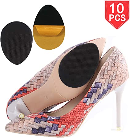 3 Pairs Self-Adhesive Anti-Slip Stick Shoe Grip Pads Durable Sole Protector New