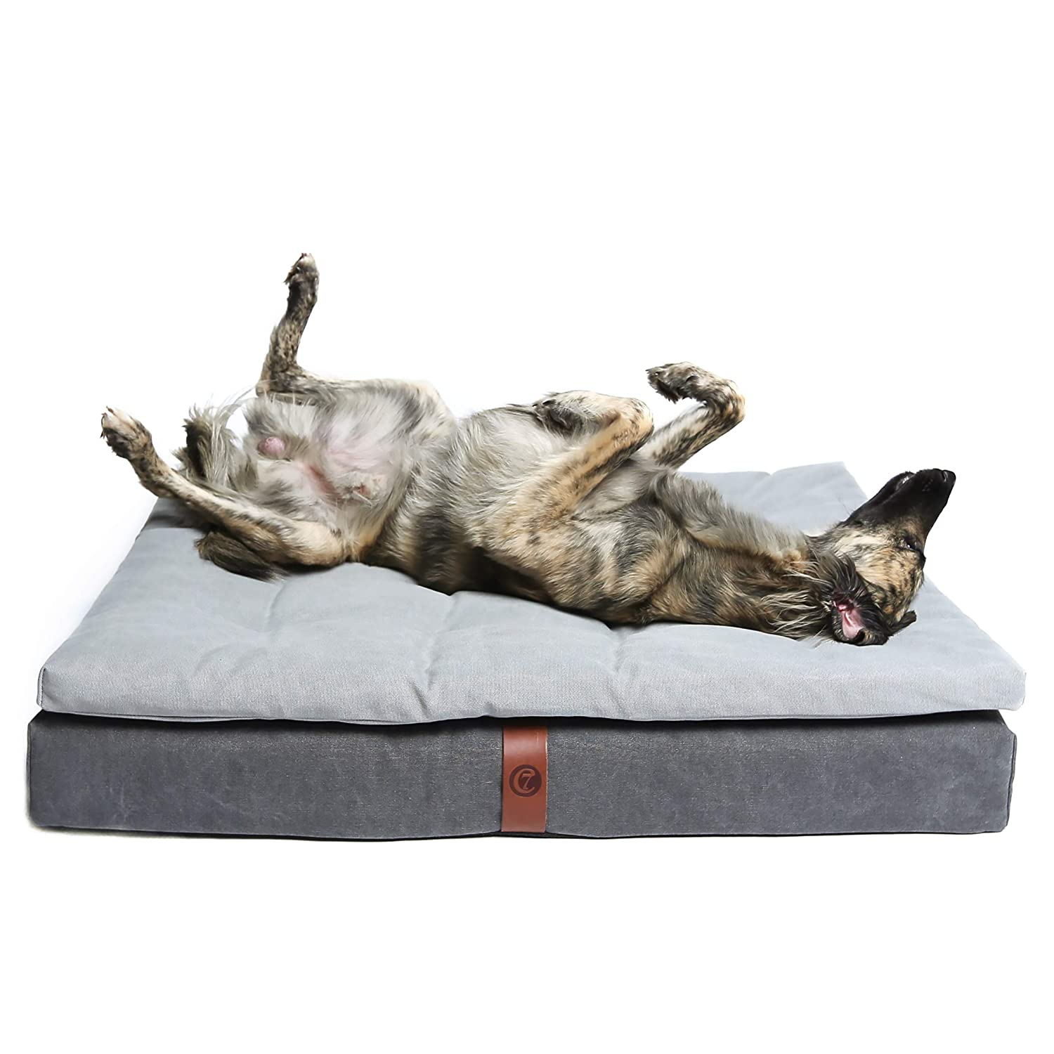 Cloud7 Dog Moon Bed Large (90x65cm) Basalt Grey