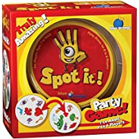 Spot It Party Board Game - Matching Card Game with spot Sport & Alphabet for Kids Family Fun Double find it English…