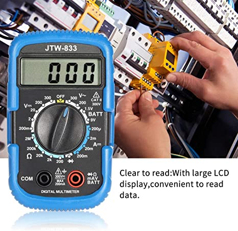 Ballylelly Für Jtw 833 Handheld Mini Digital Multimeter Elektronik
