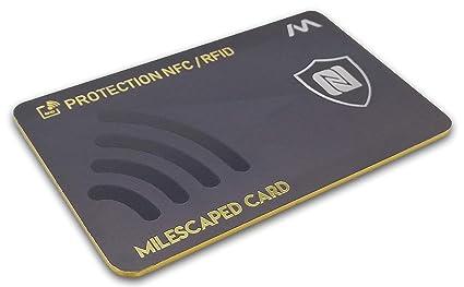 Tarjeta antiRFID/NFC MILESCAPED v2 - Protección para Tarjeta ...