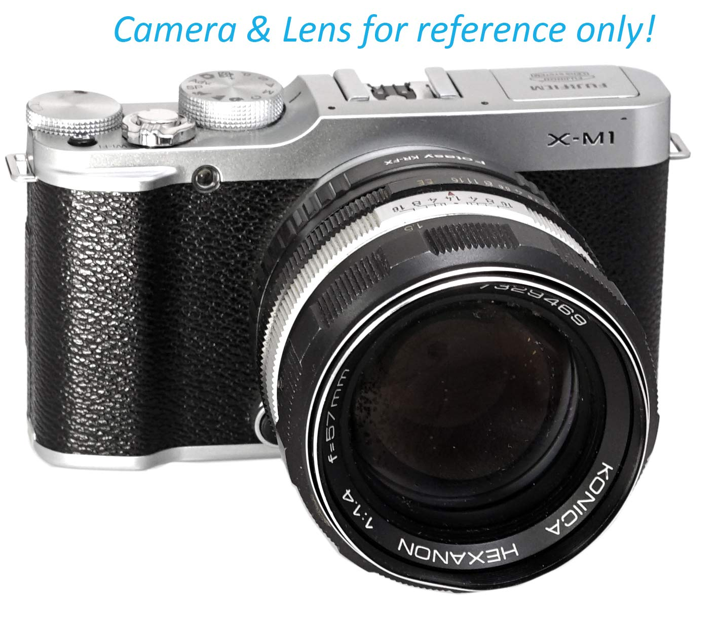 Fotasy Manual Nikon Lens to Fuji X Macro Focusing Helicoid Adapter fits Fujifilm X-Pro2 X-Pro3 X-E2 X-E3 X-A7 X-A10 X-T1 X-T2 X-T3 X-T10 X-T20 X-T30 X-T100 X-T200 X-H1 Nikon Lens Focusing Helicoid