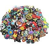 YaqinZ 100pcs/lot Various Styles Random Shoe Charms For Jibbitz croc shoes & Bracelet Wristband