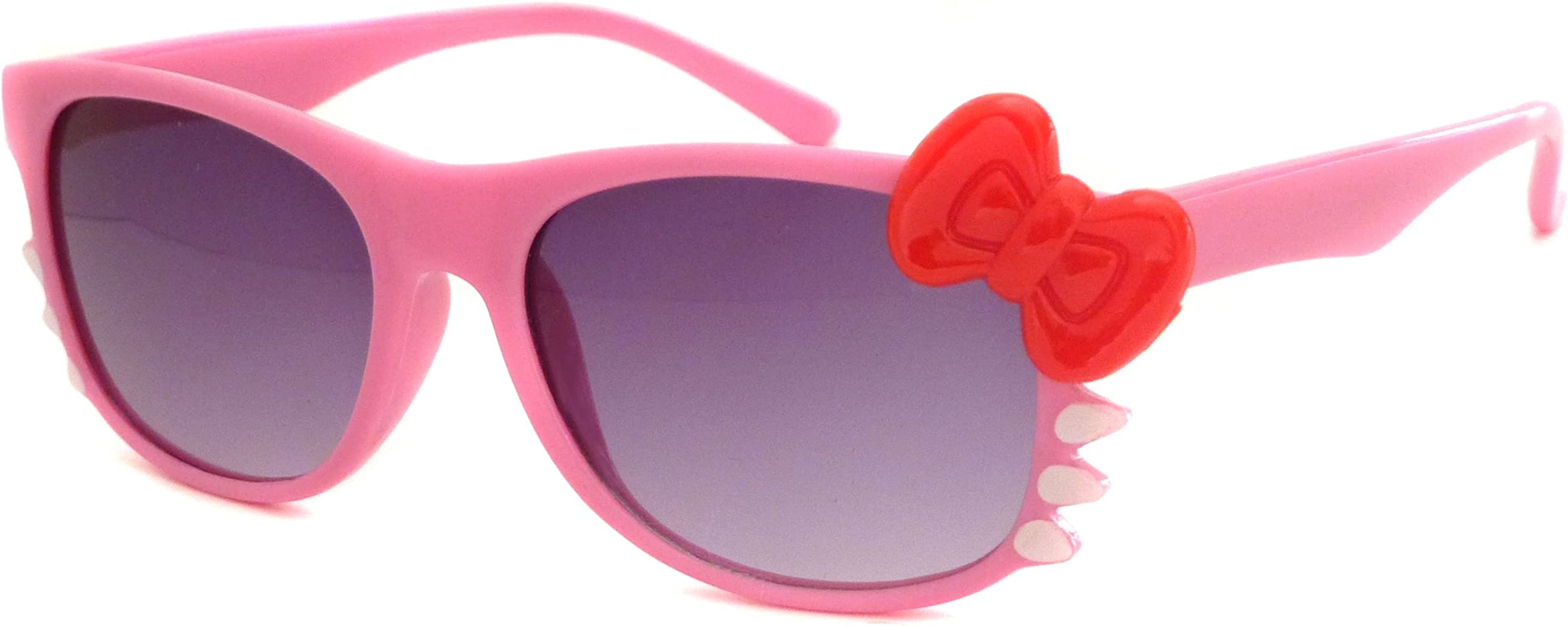 3eb8d41ff HELLO Kitty Style Kids Baby Children Girl Sunglasses (Age 1-5) PINK/