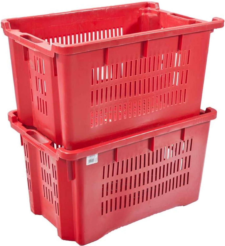 Sodipa 7656 - Caja de plástico encajable 40 l