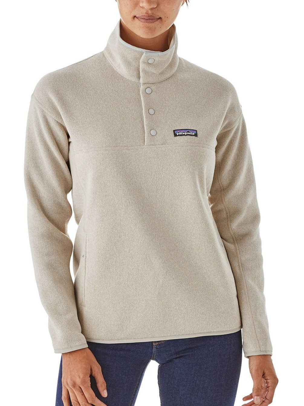 Patagonia LW Better Marsupial P/O Polar, Mujer, Azul (Bleached Stone), M 26010