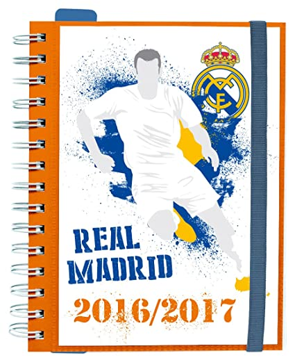 Grupo Erik Editores Real Madrid - Agenda escolar sv 2016/2017, 14.8 x 21 cm