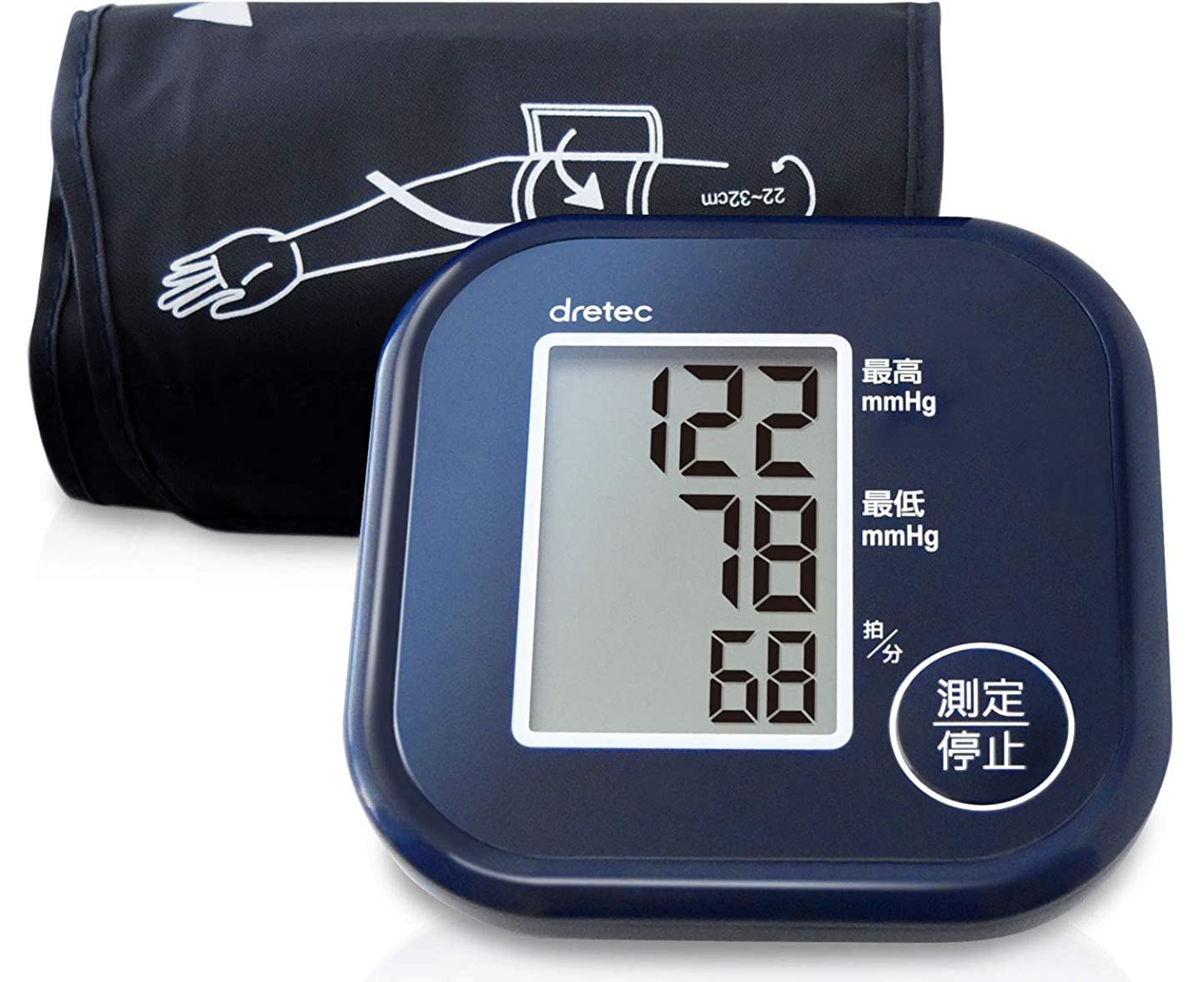 するだろうぼかし遠えパナソニック 手くび血圧計  EW-BW10