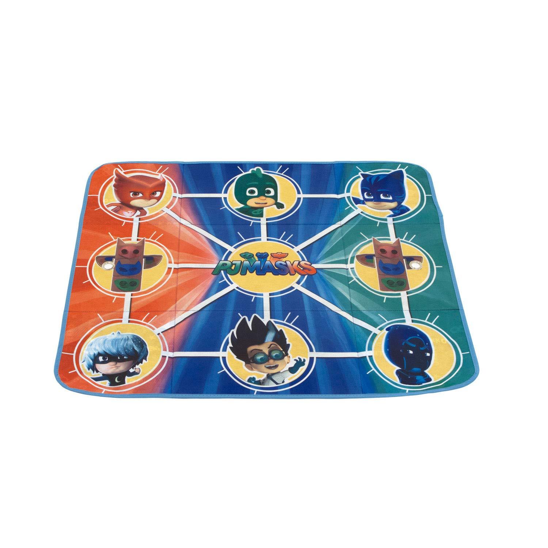 de EONE-Pjmasks Contenedor Textil Convertible en Tapiz de Juegos 41x31x28cm ARDITEX PJ12107 Caja 84x95cm