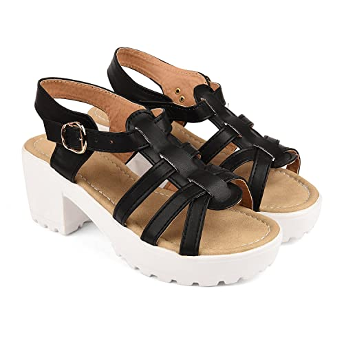 65dd8ca15c8f Bare Soles Trendy Sandals - WS1-36  Buy Online at Low Prices in ...