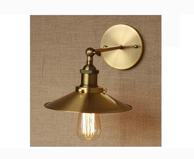 Lh industriale di lampada di illuminazione antico muro metallo