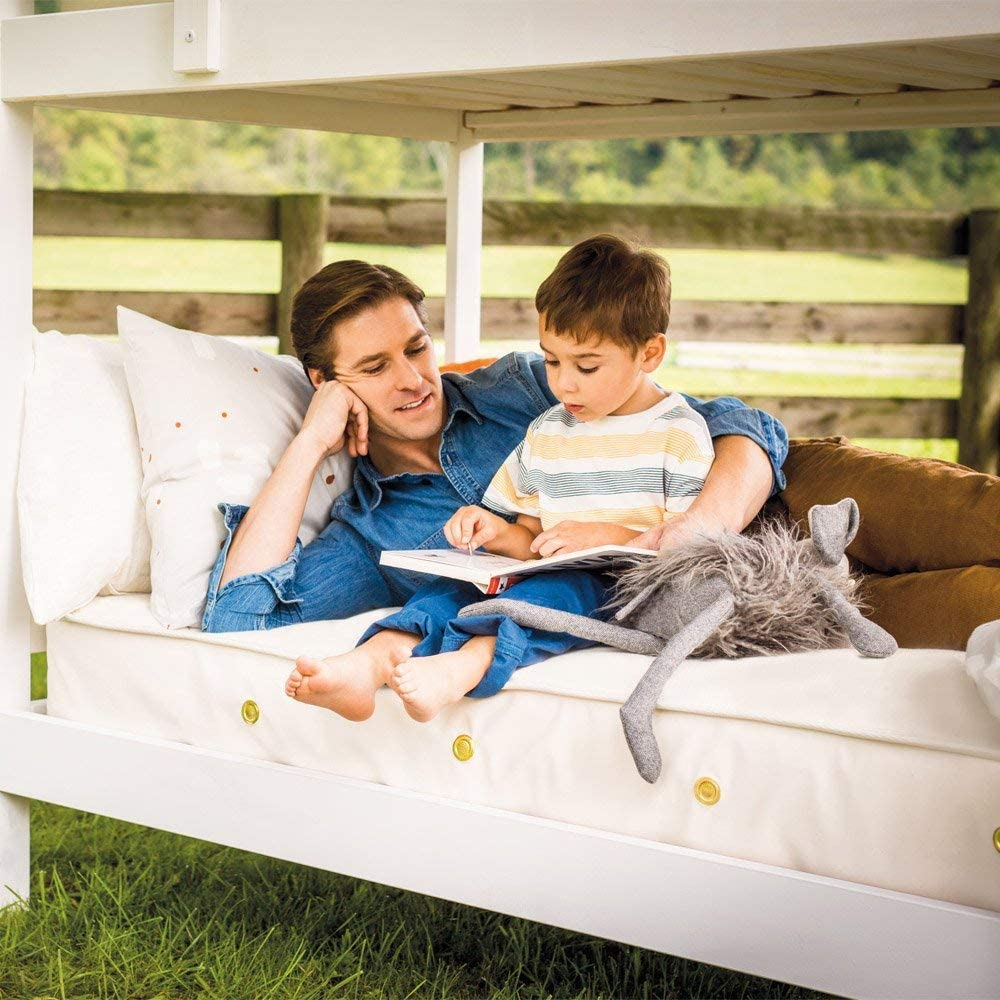 Full Naturepedic Organic Cotton 2-in-1 Ultra//Quilted Mattress