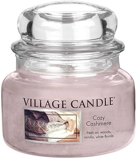 Village Candle 106311834 Cozy Cashmere Vaso Piccolo 9.8 x 9.5 x 5.5 cm Rosa