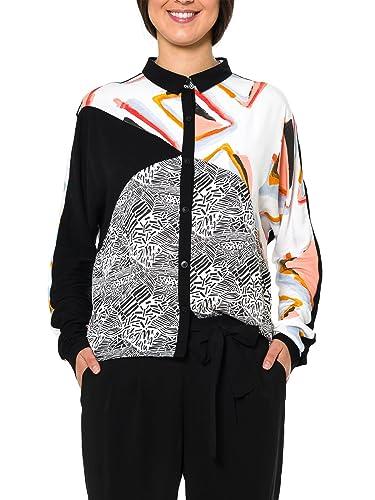 Smash! Setosa, Blusa para Mujer, Negro (Black), 38 (Tamaño del Fabricante:M)