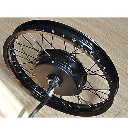 Amazon com : NBPower CE 72V Electric Bike Kit, 21inch 5000W
