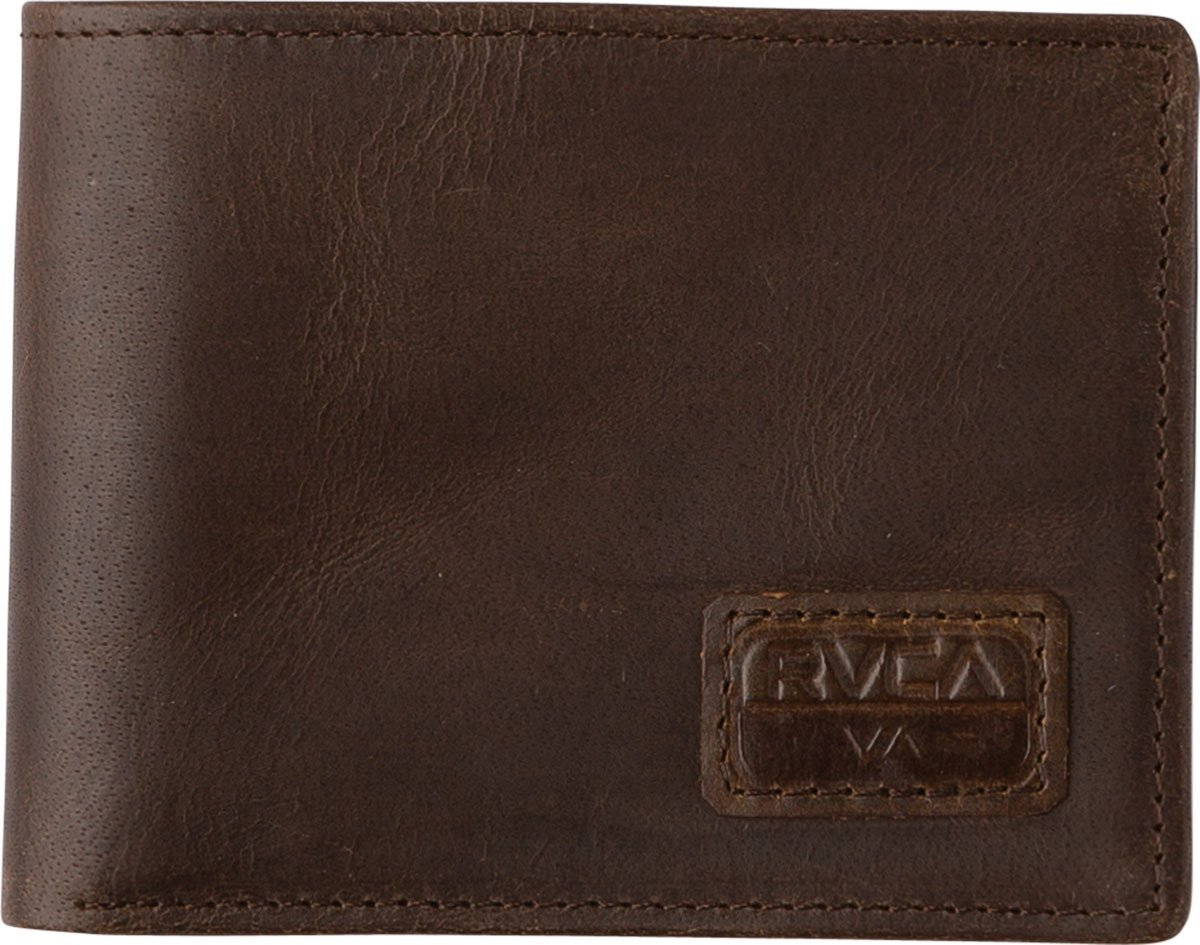 RVCA Dispatch Leather Wallet Accessory