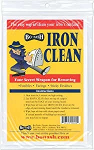 Bo-Nash Iron Clean Cleaning Cloths 10 Pack 5003B (1-Pack)