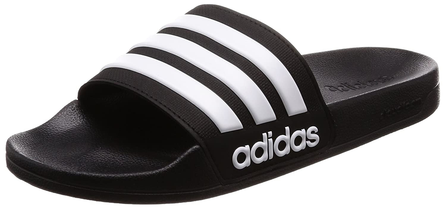 075fe8324670 adidas Men s Cloudfoam Adilette Adilette Flip Flops  Amazon.co.uk  Shoes    Bags