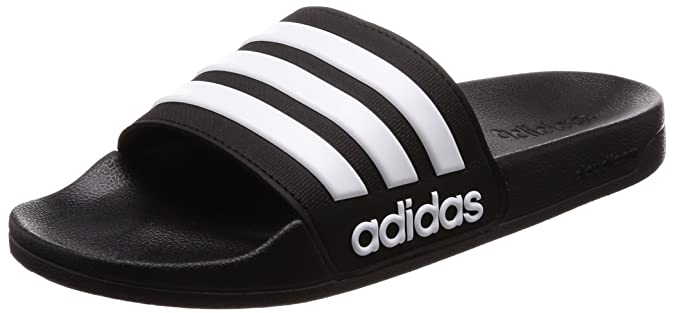 e677a806c717 adidas Men s Cloudfoam Adilette Adilette Flip Flops  Amazon.co.uk  Shoes    Bags