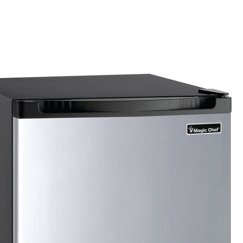 Magic chef mini fridge review - Amazon Com Magic Chef Mcbr440s2 Refrigerator 4 4 Cu Ft Stainless Steel Appliances