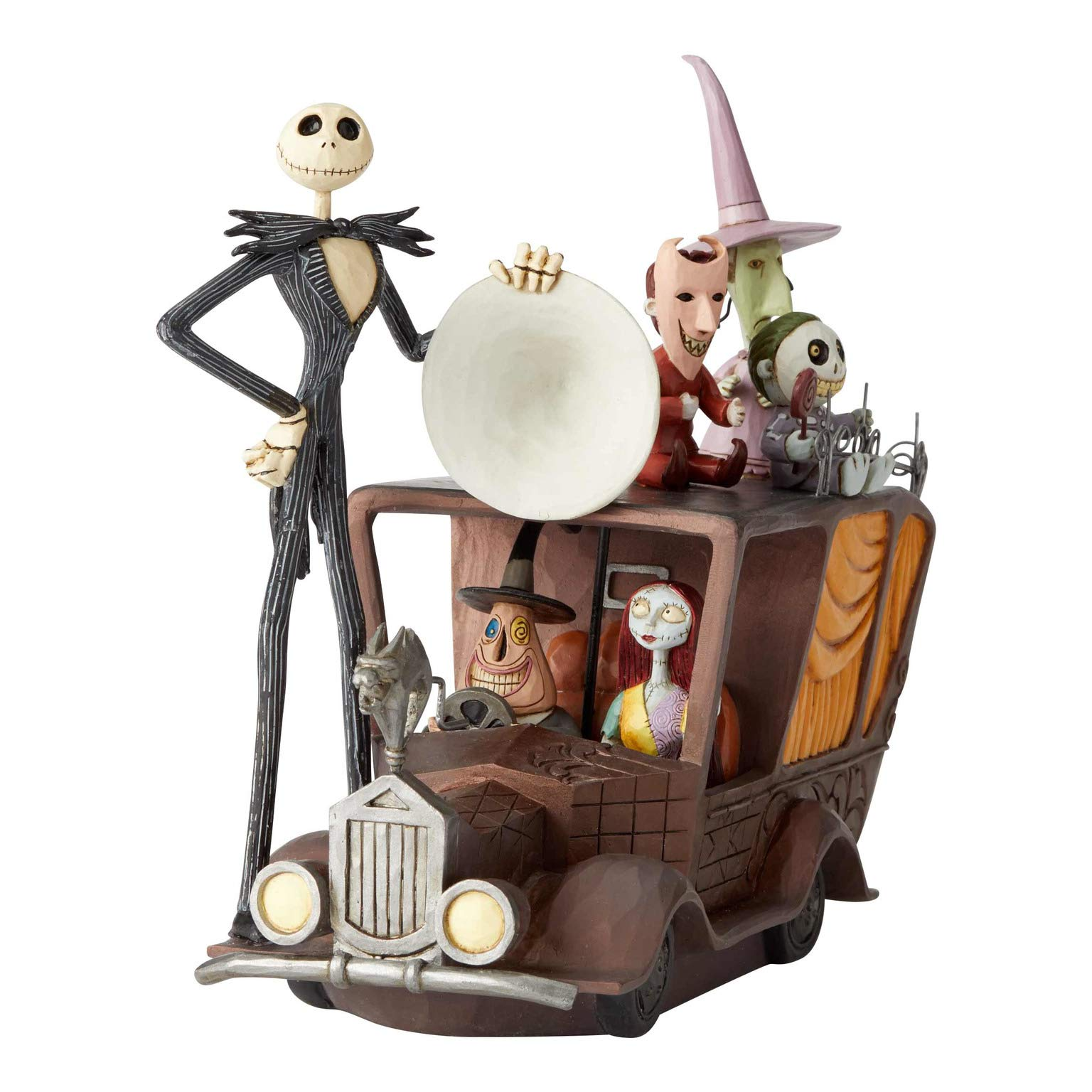 3.5 Inch Multicolor Enesco Disney Traditions by Jim Shore The Nightmare Before Christmas Timmy and Scary Toys Figurine Set