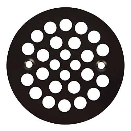 Oil Rubbed Bronze Shower Drain Cover.Oil Rubbed Bronze Round Shower Grate Drain 4 1 4 In Replacement Cover